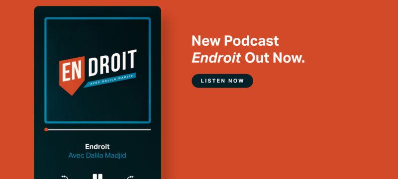 Nouveau Podcast ENDROIT vient de sortir !